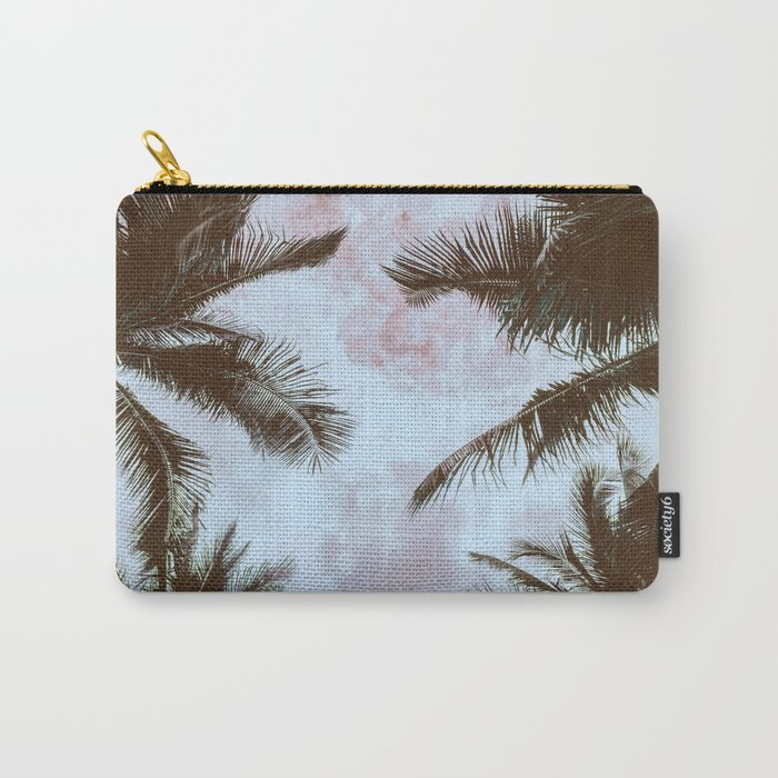 Vintage Palms Carry-All Pouch