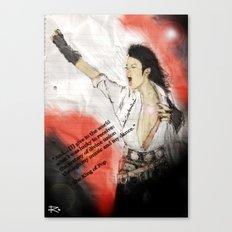 MJ Shamone!  Canvas Print