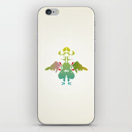 Rorschach Chicken iPhone Skin