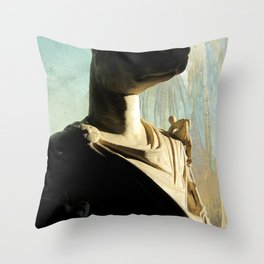 Gone to meet Anubis. Throw Pillow
