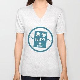 Fuzz RayGun Fx Logo Unisex V-Neck
