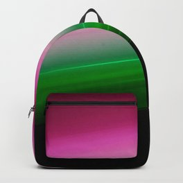 Pink Green Ombre Backpack