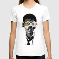 godfather T-shirts featuring Godfather Mix 1 black by Marko Köppe