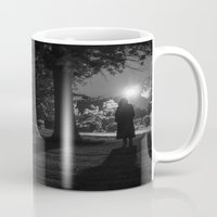 noir Mugs featuring Noir by Derek Donovan