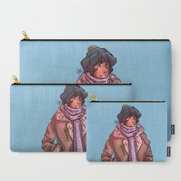 Cozy Ghost King Carry-All Pouch