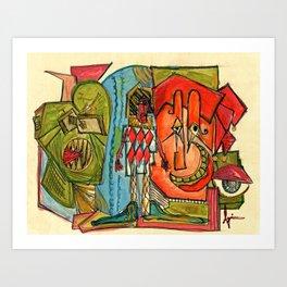 Happy Crimble Art Print