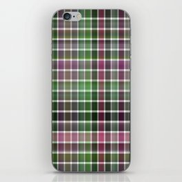 Pink Roses in Anzures 6 Plaid 2 iPhone Skin