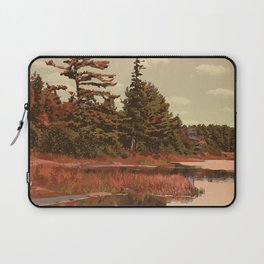 Grundy Lake Provincial Park Poster Laptop Sleeve