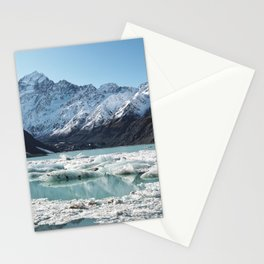 Mt Cook National Park, New Zealand Stationery Cards