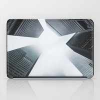 cityscape iPad Cases featuring Cityscape by General Design Studio