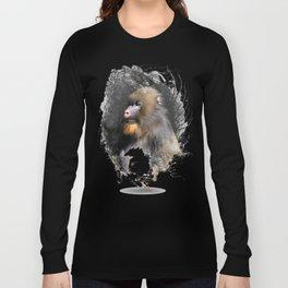 Zen Master Mandrill Long Sleeve T-shirt