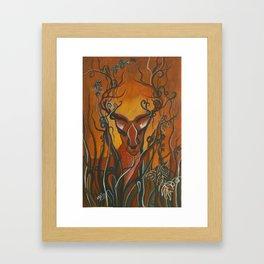 Whimsical Creatures 4 Framed Art Print