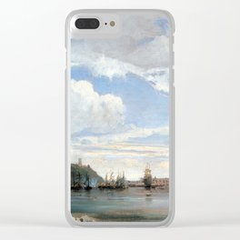 François Antoine Léon Fleury On the Bay of Naples Clear iPhone Case