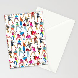 Dance, Dance, Dance! Stationery Cards