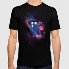 Doctor Who 001 Mens Fitted Tee Black LARGE
