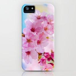 Sakura 07 iPhone Case