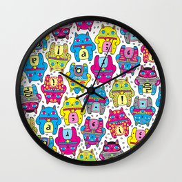 CatCat For Ever Wall Clock