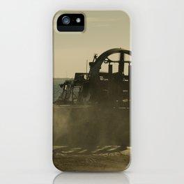 Hovercraft gold iPhone Case