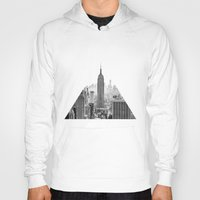 city Hoodies featuring New York City by Studio Laura Campanella