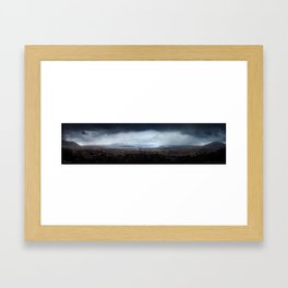 Distant Hope | Iceland - The Black Beauty Framed Art Print