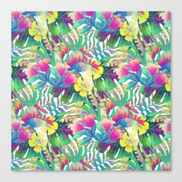 Tropical Jungle Canvas Print