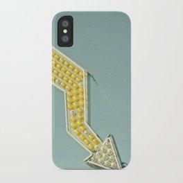 Golden Arrow iPhone Case