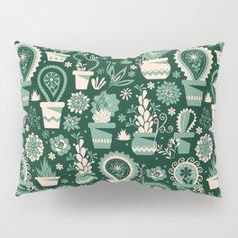 Paisley succulents Pillow Sham