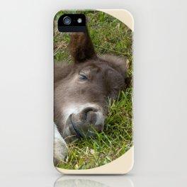 Sleep well iPhone Case