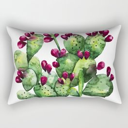 Prickly, Prickly Pear Cactus Rectangular Pillow