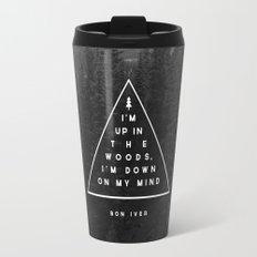 Woods -- Bon Iver Travel Mug