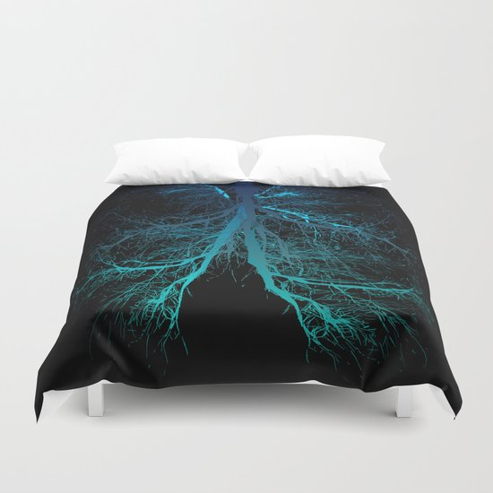 Aqua Lungs Duvet Cover