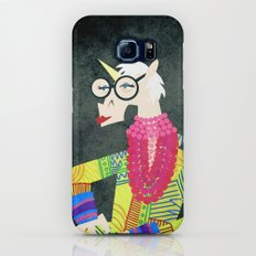 Iris the Unicorn of Fashion Slim Case Galaxy S6