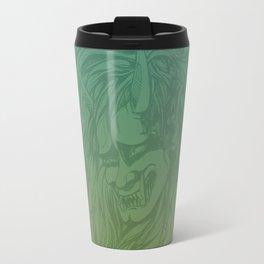 Japanese Oni Head Travel Mug