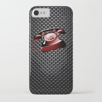telephone iPhone & iPod Cases featuring TELEPHONE by Ylenia Pizzetti