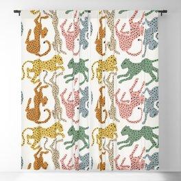Rainbow Cheetah Blackout Curtain