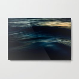 The Uniqueness of Waves IV Metal Print