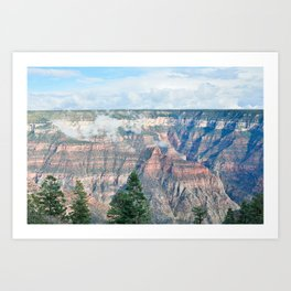 North Rim Grand Canyon Art Print