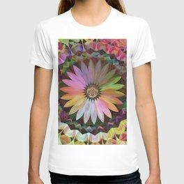 Tropical Daisy Mandala T-shirt