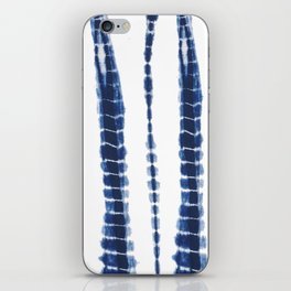 Indigo Blue Tie Dye Delight iPhone Skin