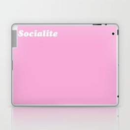 so·cial·ite /ˈsōSHəˌlīt/ - A rich girl who parties too much Laptop & iPad Skin