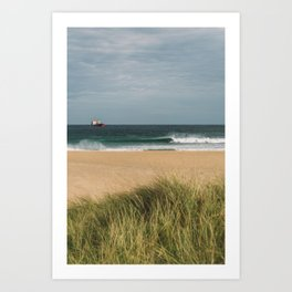 The perfect beachbreak, 2019 Art Print