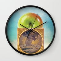 atlas Wall Clocks featuring Atlas by JPvR