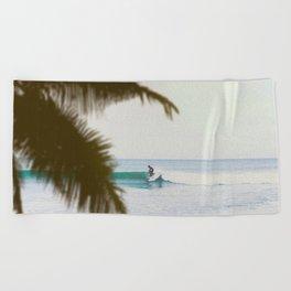 Summer Surf Beach Towel