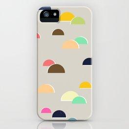 Happy Hills iPhone Case