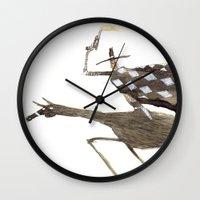 cowboy Wall Clocks featuring Cowboy by Peerro