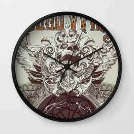 Dead Wing Wall Clock
