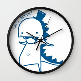 Darren the Dino Wall Clock