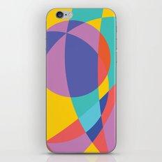 Geometric Beach Ball 2 iPhone & iPod Skin