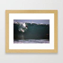 The Wedge Framed Art Print