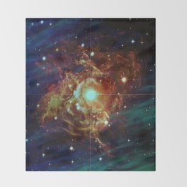 Variable Star Throw Blanket